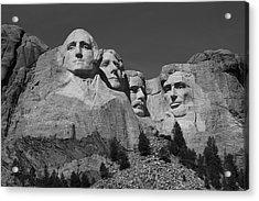 Mount Rushmore Acrylic Print by Frank Romeo
