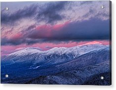 Mount Washington Summit In The Alpenglow Acrylic Print