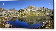 Mountain And Lake Acrylic Print by Ioan Panaite