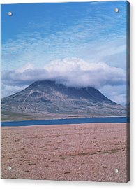 Mountain Cloud Acrylic Print by Simon Fraser/science Photo Library