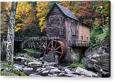 Mountain Mill Acrylic Print