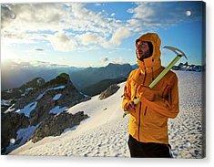 Mountaineering Acrylic Print