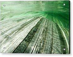 Mountainriver In Lavertezzo, Tessin Acrylic Print