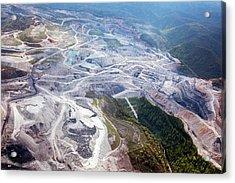 Mountaintop Removal Coal Mining Acrylic Print