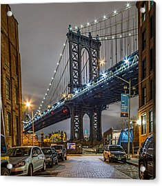 Mr Manhattan  Acrylic Print by Anthony Fields