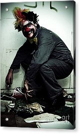 Mr Squatter The Unemployed Clown Acrylic Print