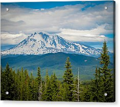 Mt. Adams From Indian Heaven Wilderness Acrylic Print