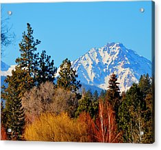 Mt Bachelor 21620 Acrylic Print