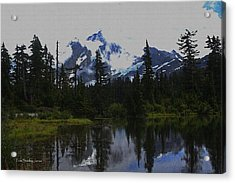 Mt Baker Washington  Acrylic Print