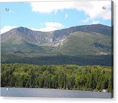Mt. Katahdin Acrylic Print