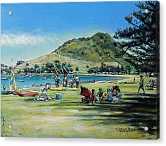 Mt Maunganui Pilot Bay 201210 Acrylic Print