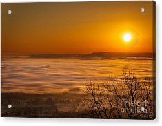 Mt. Nebo Acrylic Print