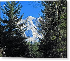 Acrylic Print featuring the photograph Mt. Rainier I by Tikvah's Hope