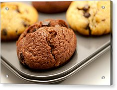 Acrylic Print featuring the photograph Muffins by Fabrizio Troiani