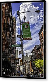 Mulberry St - Nyc Acrylic Print