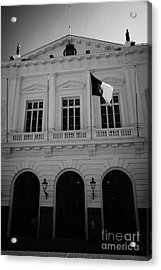 Municipalidad De Santiago City Hall Building Chile Acrylic Print by Joe Fox
