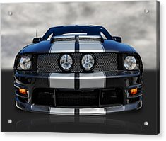 Ford Mustang Acrylic Print by Frank J Benz