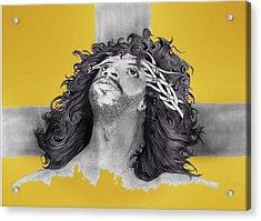 My God  Acrylic Print by Kim Collins
