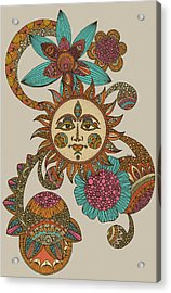 My Sunshine Acrylic Print by Valentina