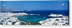 Mykonos Island Greece Acrylic Print