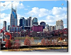 Nashville Tennessee Acrylic Print by Frozen in Time Fine Art Photography