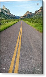 National Forest Road Acrylic Print