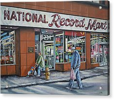 National Record Mart Acrylic Print by James Guentner