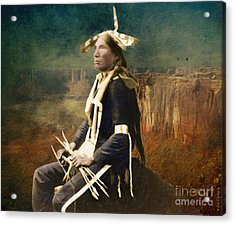 Native Honor Acrylic Print