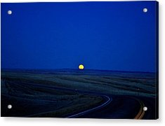 Native Moon Acrylic Print