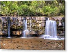 Natural Dam Falls Acrylic Print