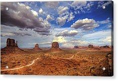 Navajo Valley Acrylic Print