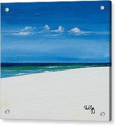 Navarre Beach Acrylic Print