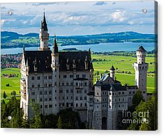 Neuschwanstein Castle - Bavaria - Germany Acrylic Print