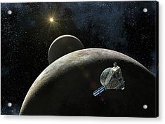 New Horizons At Pluto Acrylic Print