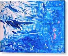 Acrylic Print featuring the painting New Horizons  by Ilona Svetluska