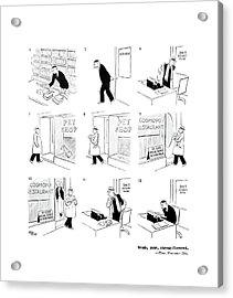 New Yorker December 14th, 1940 Acrylic Print