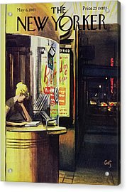 New Yorker May 6th 1961 Acrylic Print