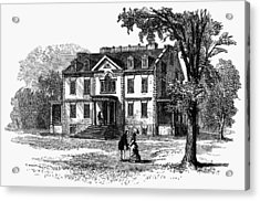 Newark Schuyler Mansion Acrylic Print by Granger