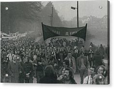 Newry March Passes Off Peacefully Acrylic Print by Retro Images Archive