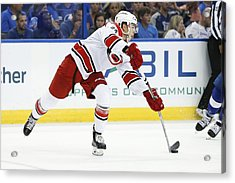 Nhl: Sep 27 Preseason - Hurricanes At Lightning Acrylic Print by Icon Sportswire