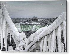 Niagara Falls In The Winter Acrylic Print