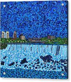 Niagara Falls Acrylic Print by Micah Mullen