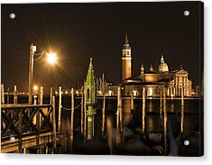 Acrylic Print featuring the photograph Night Lights by Marion Galt