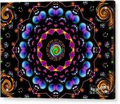 Nightshade Acrylic Print by Bobby Hammerstone