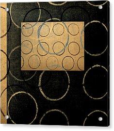 No Coasters Acrylic Print by Carol Leigh