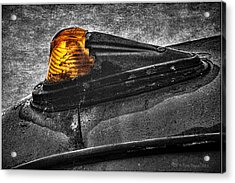 Nobody's Truck Running Light Acrylic Print