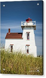 North Rustico Lighthouse Acrylic Print by Elena Elisseeva