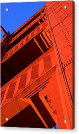 North Tower Golden Gate Bridge Acrylic Print