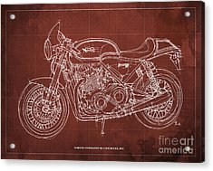 Norton Commando 961 Cafe Racer 2011 Acrylic Print