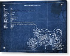 Norton Commando 961 Cafe Racer 2011 Technical Specifications Acrylic Print